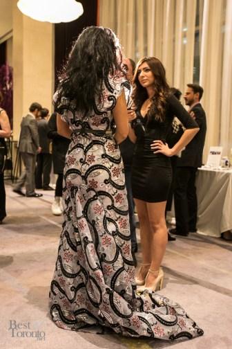 Veronica Chail being interviewed