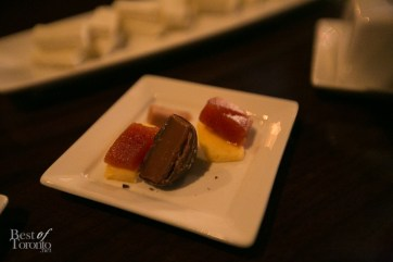 Rum pairings with Yellow Cuban cheese, salted dark chocolate caramels, and guava paste