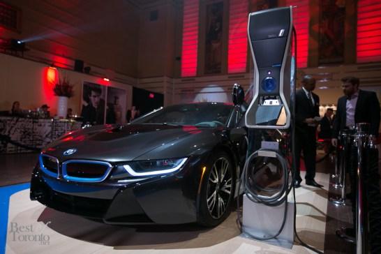 The BMW i8 hybrid supercar