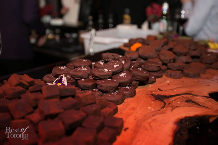 Delectable sea salt chocolates to pair with rum