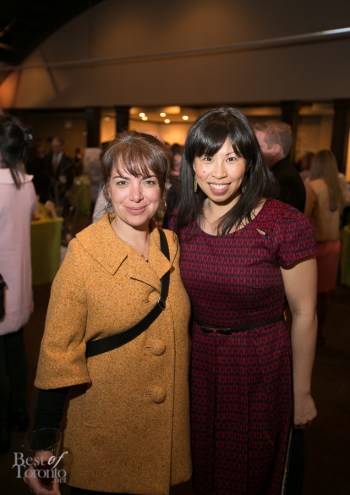 Rose Reisman and Pay Chen