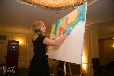 Jessica Gorlicky (JessGo) live art