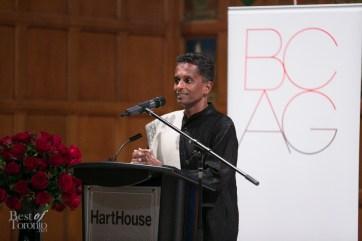 Shyam Selvadurai, a 2014 Bonham Centre Award recipient