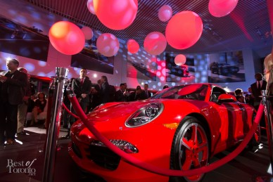 The 2014 Porsche 911 Carrera S customized exclusively for Amore Without Borders