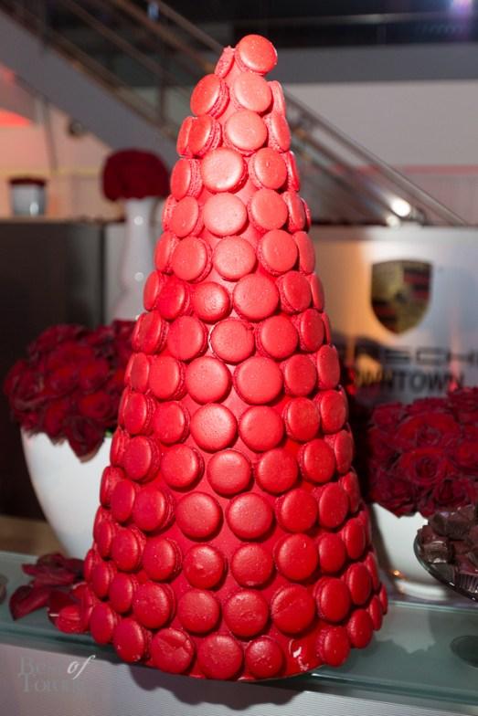 Macaron tower