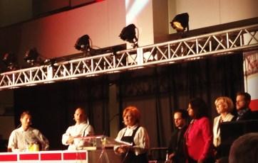 Chef Donna Dooher receives the winning title   Photo: Nellie Chen