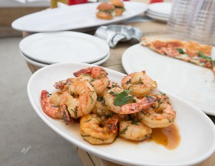 Mojito Shrimp with Mint, Lime and Rum Caramel