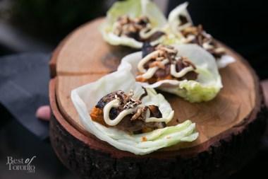 Beef Short Rib Lettuce Wraps