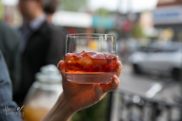 That's our Word - make-it-your-self Campari cocktail