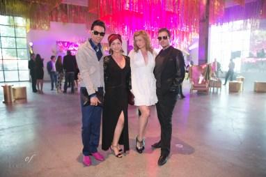 Julio Reyes, Nicki Laborie, Catherine Sugrue, Daniel Desforges | Photo: Nick Lee