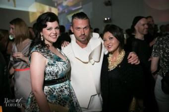 Gail McInnes, Dwayne Kennedy, Susan Langdon | Photo: Nick Lee