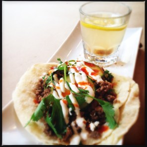 MexicAsian tacos by La Brea TO