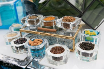 The botanicals infused in Bombay Sapphire