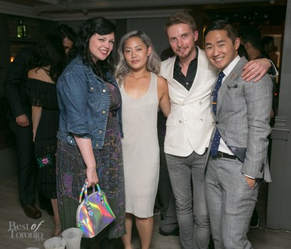 Gail McInnes, Joanne Jin, Serge Kerbel, Lance Chung