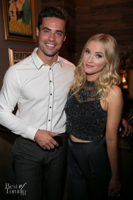 Tim Warmels (Bachelor Canada), Liz Trinnear (Much host)