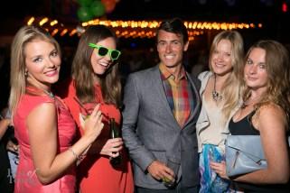 Adam van Koeverden with guests