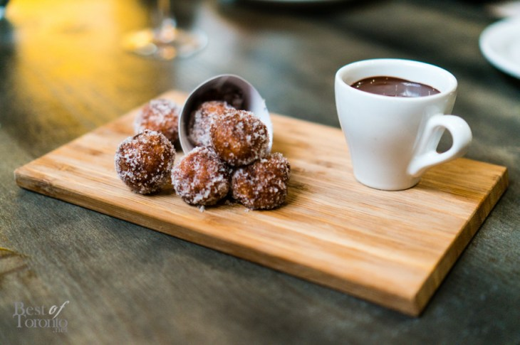 Beignets - assorted doughnuts, vanilla bean cream