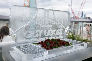 The Grey Goose ice bar
