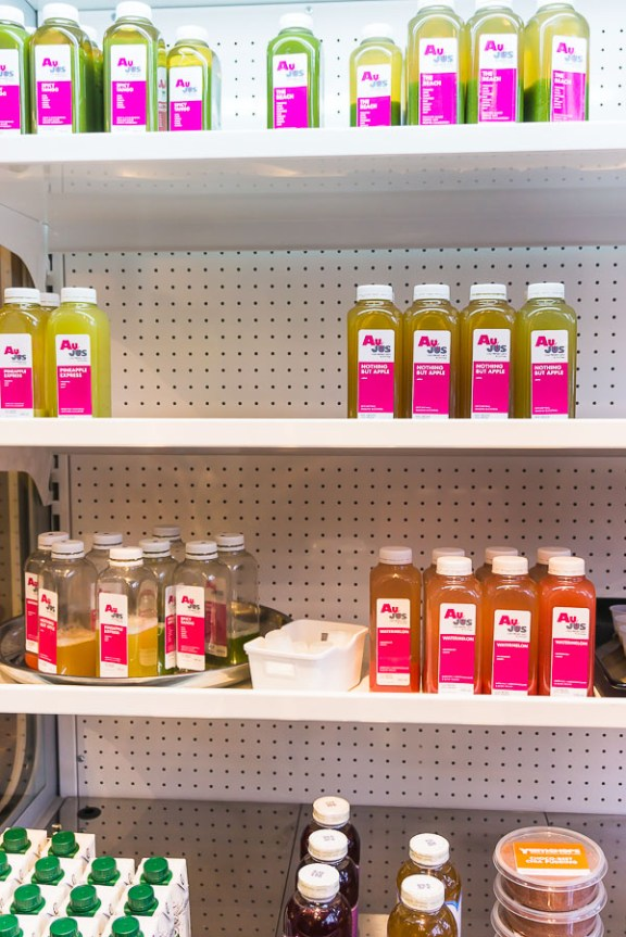 Aujus - YamChops' pressed juices