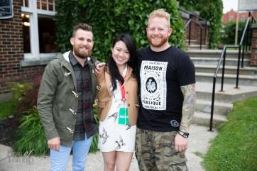 Chef Dale Mackay (Ayden Kitchen and Bar), Tiffany Leigh, Chef Derek Dammann (Maison Publique)