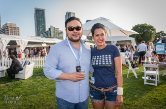 "Chef David Chang of Momofuku and Chef Chantana ""Top"" Srisomphan of Khao San Road"