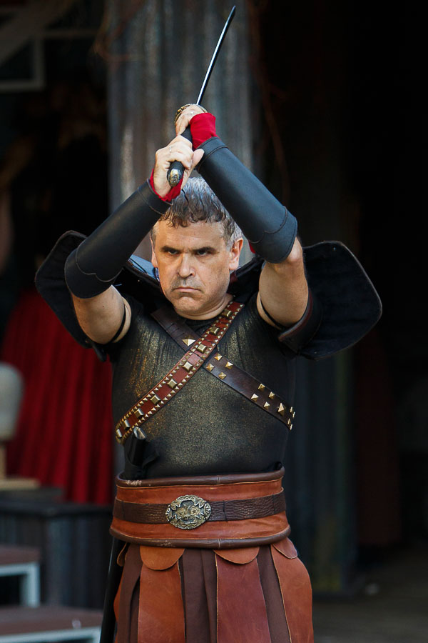 Sean Dixon as Titus in Titus Andronicus| Photo: David Hou