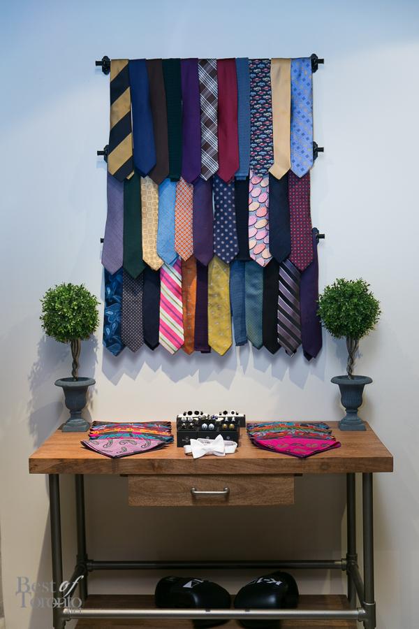 Fine accessories at Garrison Bespoke | Photo: Nick Lee