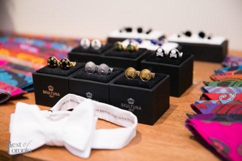 Fine accessories at Garrison Weddings | Photo: Nick Lee