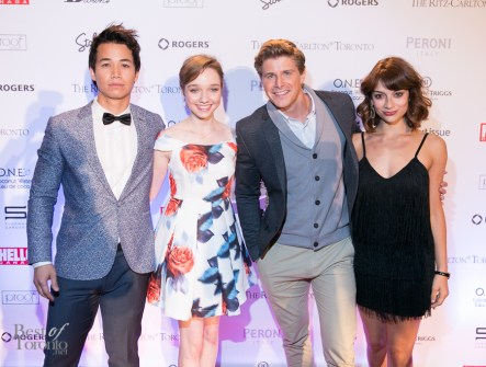 TIFF Rising Stars: Shannon Kook, Julia Sarah Stone, Alexandre Landry, Sophie Desmarais