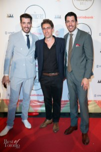 The Property Brothers with Aristotle Andrulakis