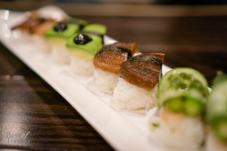 Vegetarian sushi | Photo: John Tan