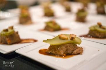 Mallard Cottage | Head cheese, beer jam, crispy pork fat, pickles