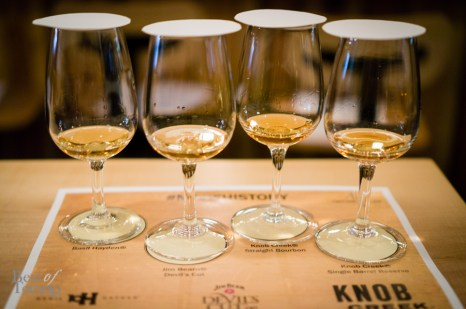 Basil Hayden's, Jim Beam Devil's Cut, Knob Creek Straight Bourbon, Knob Creek Single Barrel Reserve | Photo: John Tan