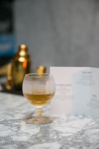BIJOU cocktail - Tanqueray Gin, Green Chartreuse, Dolin Sweet Vermouth