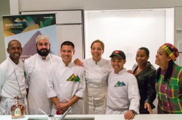 Chef Nina Compton and Team