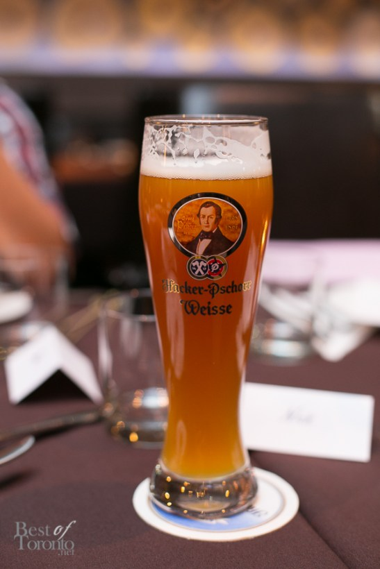 4 selections of draught beer available at Schnitzel Hub Midtown | Photo: Nick Lee