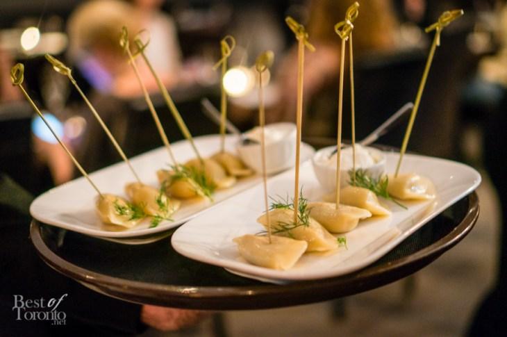 Potato cheddar and sauerkraut mushroom pierogies | Photo: John Tan