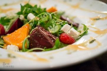 Beet and butternut squash salad | Photo: John Tan