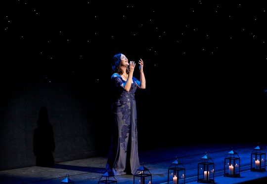 Centre Stage surprise musical guest soprano Adrianne Pieczonka | Photo: Michael Cooper