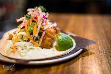 Baja Fish Taco   Photo: John Tan