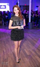 Marta Tryshak with her Notable Award