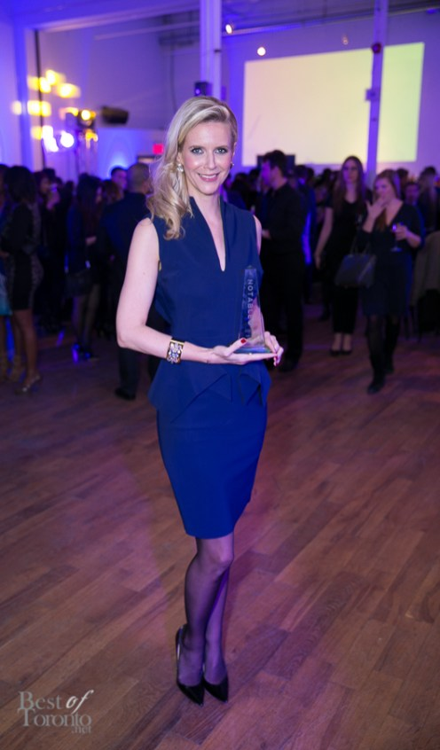 Shay Lowe (Shay Lowe jewellery) with her Notable Award