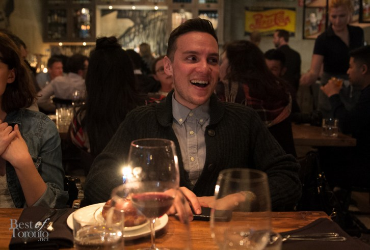 Also, we celebrated the birthday of Jesse Milns of BlogTO