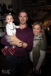 Ryan Gaggi and Melissa Grelo with their new baby