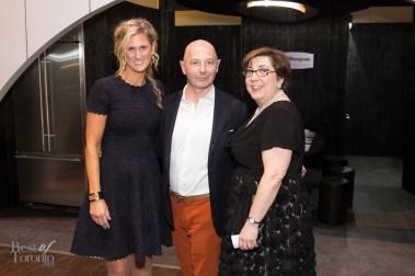Shauna Levy (Design Exchange), Philippe Meyersohn (GE Monogram), Stephanie Karapita (Casey House)