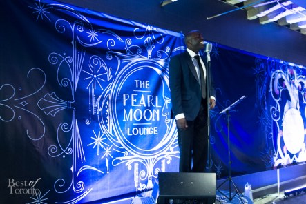 A member of the St. Royals at the Pearl Moon Lounge