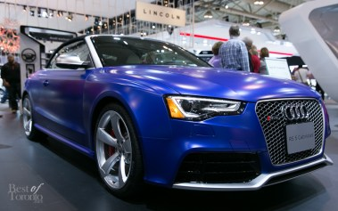 2015 Audi RS5 Cabriolet. 4.2 TFSI 8 Cylinder. 450 hp, 317 lb-ft torque, 7 speed tiptronic