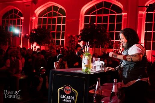 Toronto finalist Alana Nogueda | Cocktail: A Night In Santiago