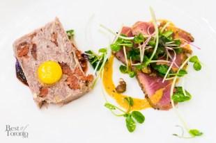Chicken & Duck Terrine + Pan Seared Grassfed Beef