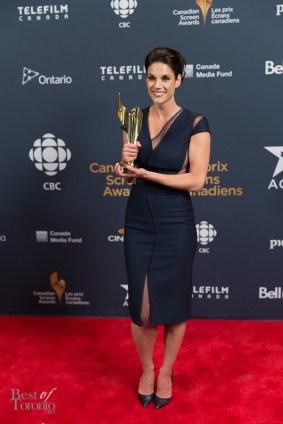 Missy Peregrym (Rookie Blue), Golden Screen Award for TV Drama/Comedy
